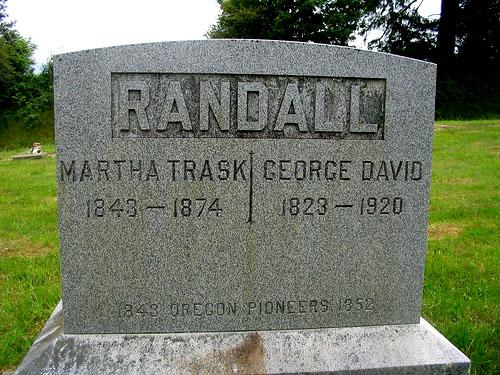 "David George ""Geo"" Randall"