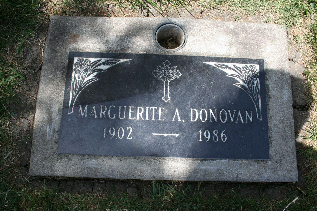 Marguerite Agnes Donovan