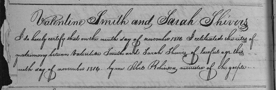 Valentine Philip Smith