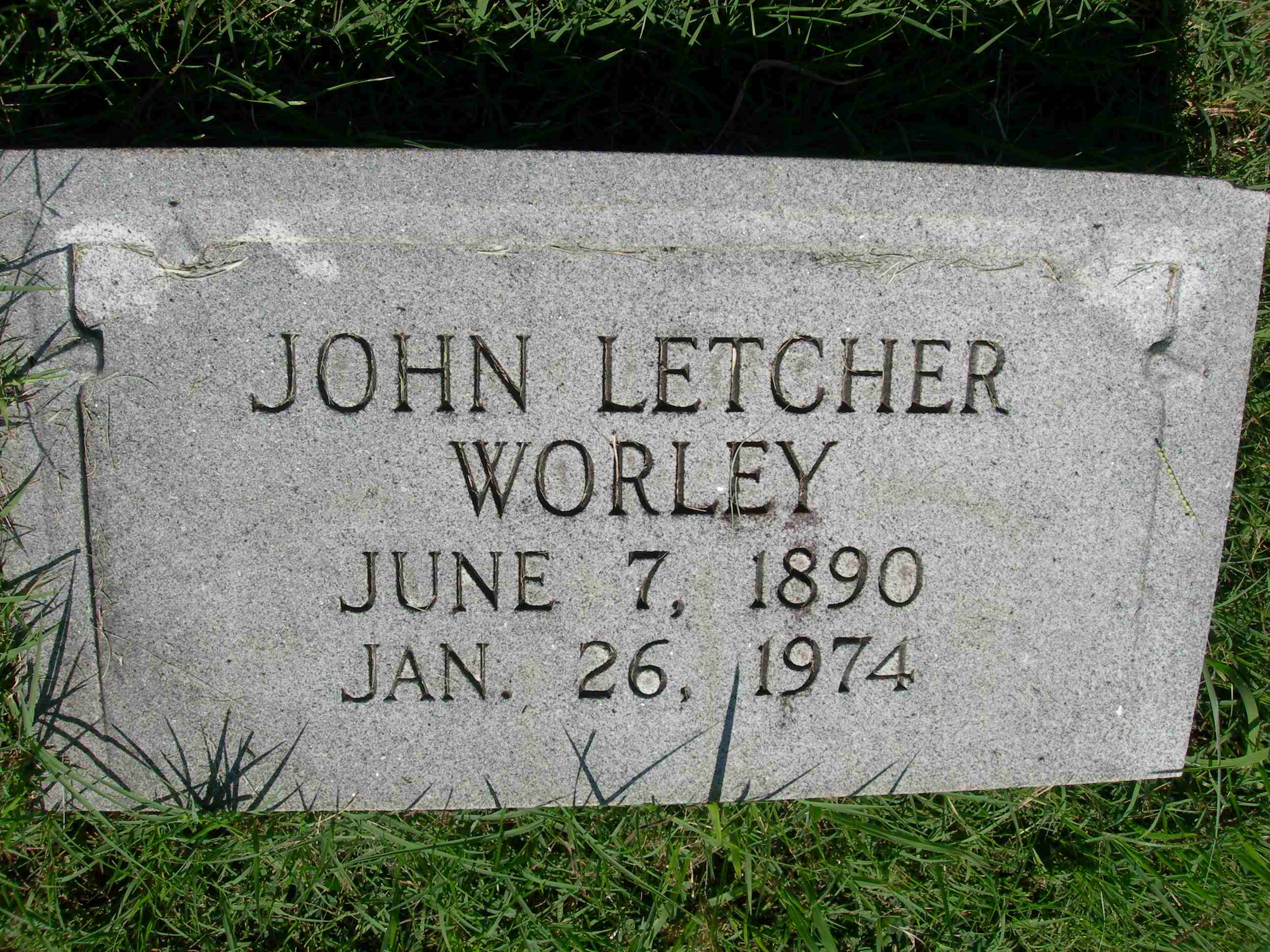 John Letcher Worley