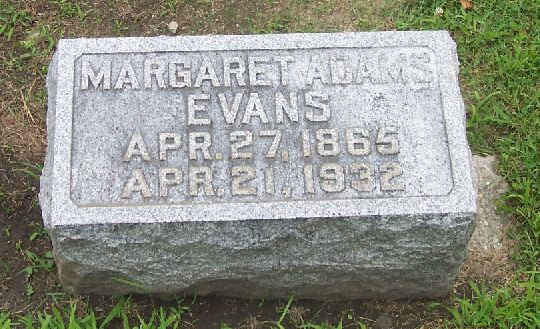 "Margaret Jane "" Maggie"" Adams"