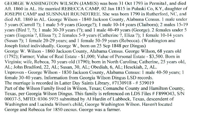 George Washington Wilson