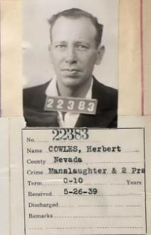 Herbert E 'Bruce' Cowles