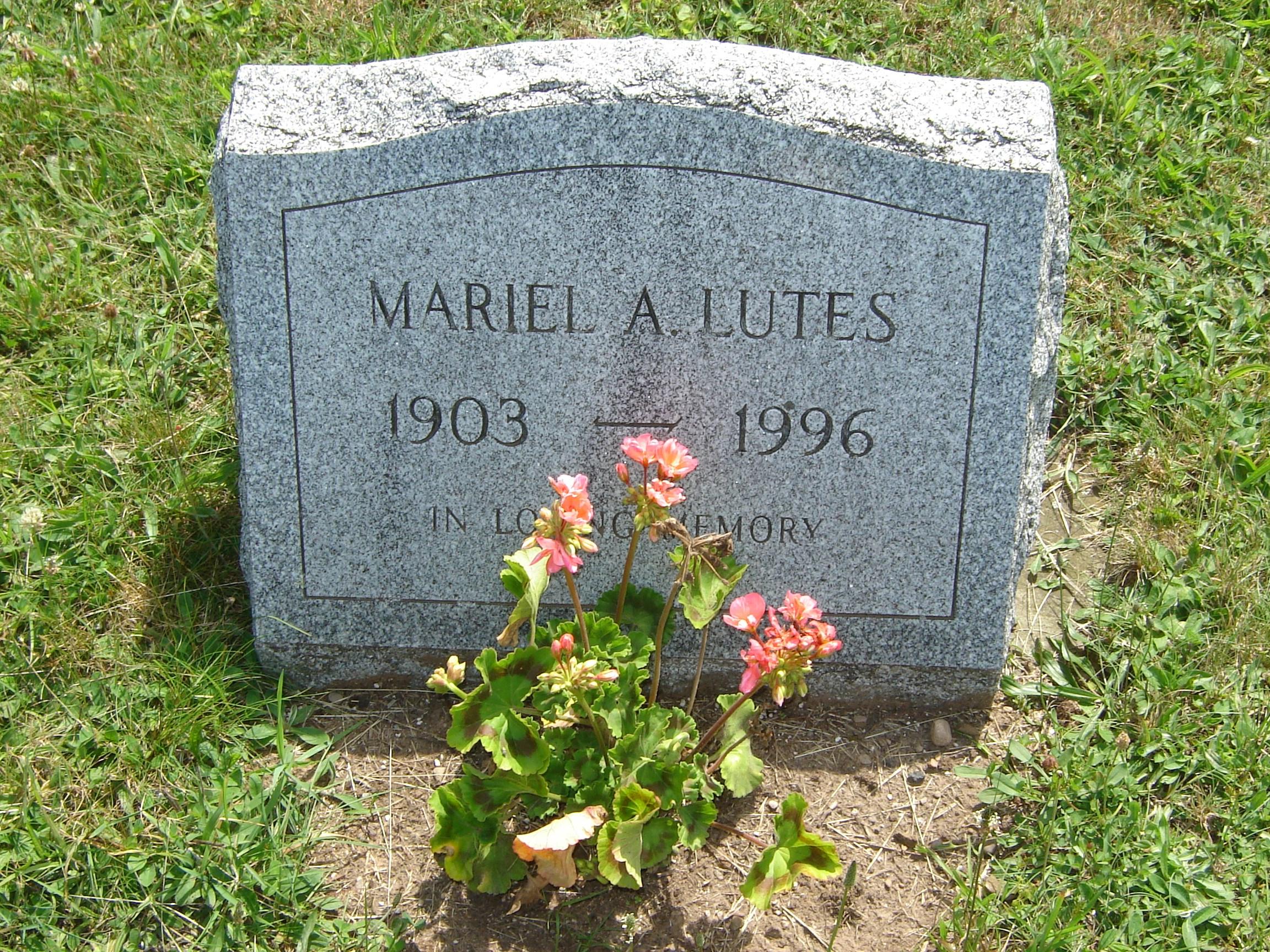Mariel A. Lutes