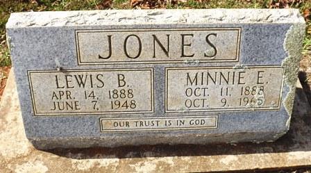 Lewis B Jones