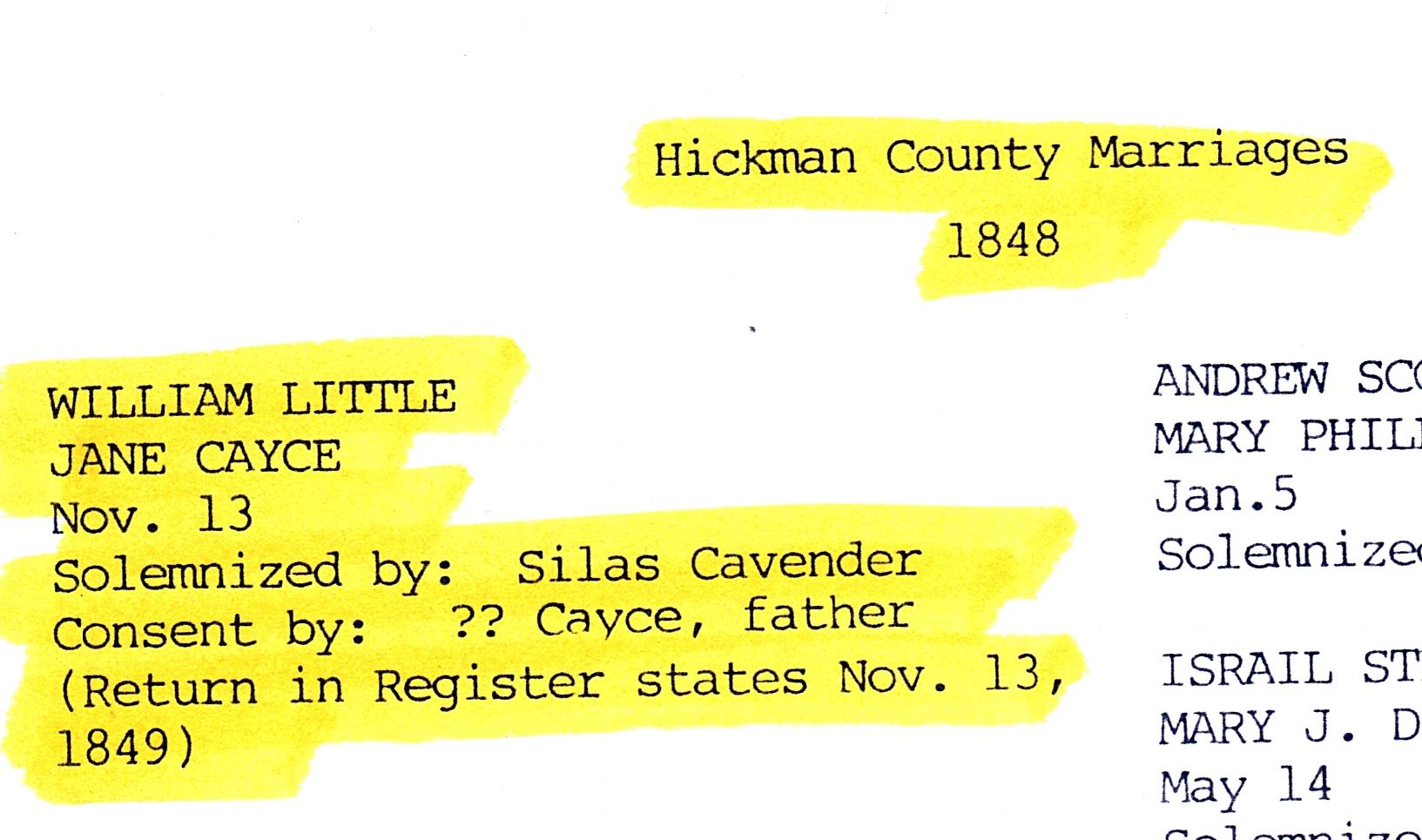 William S Little