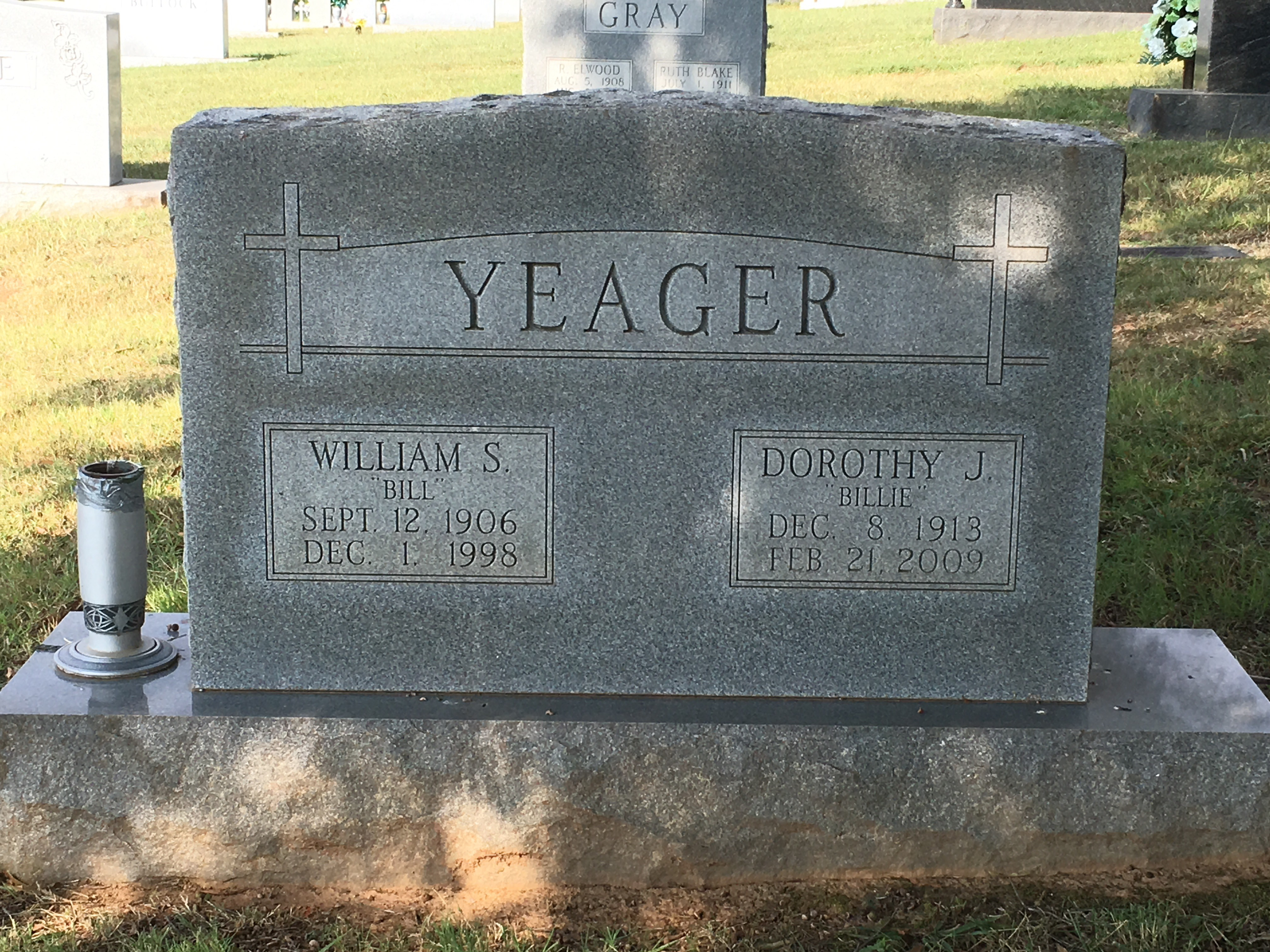 William P Yeager