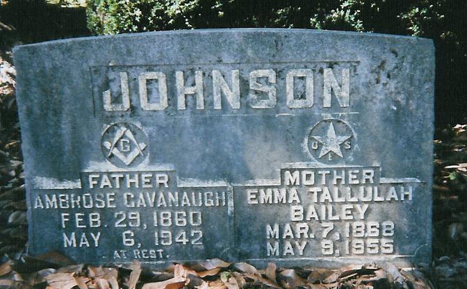 Ambrose Cavanaugh Johnson