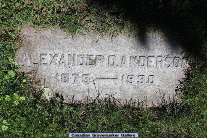 Alexander Oliver Anderson