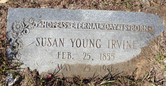 Susan Young Irvine