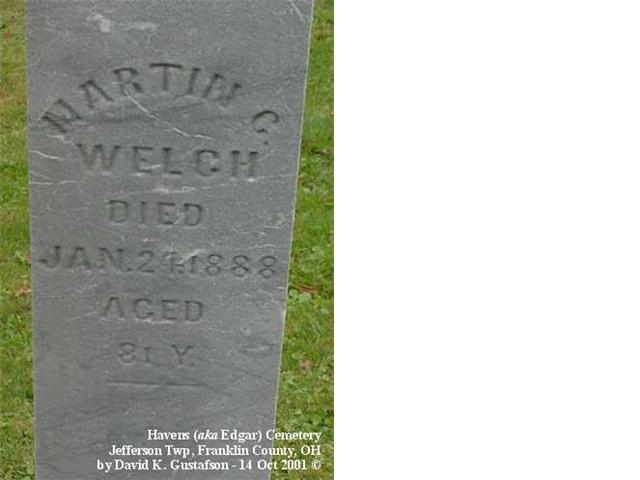 Martin Welch