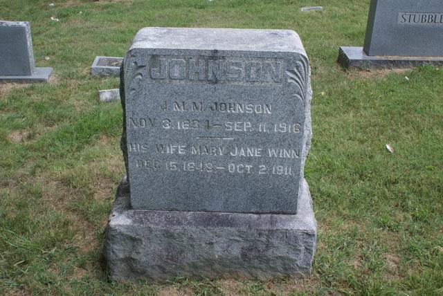 James Major Monroe Johnson