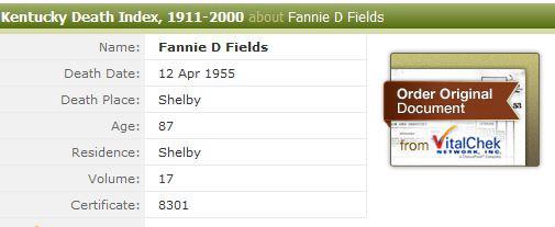 Fannie Davis