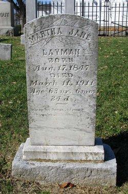 Martha Jane Layman