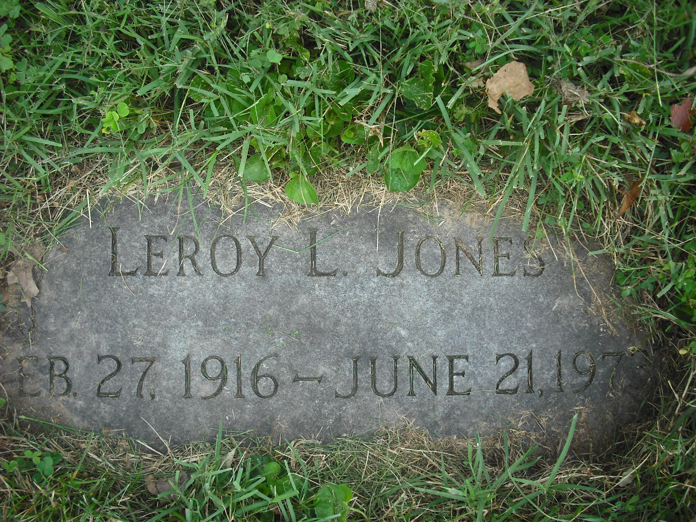 Leroy L Jones