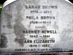 Harriet Newell Brown