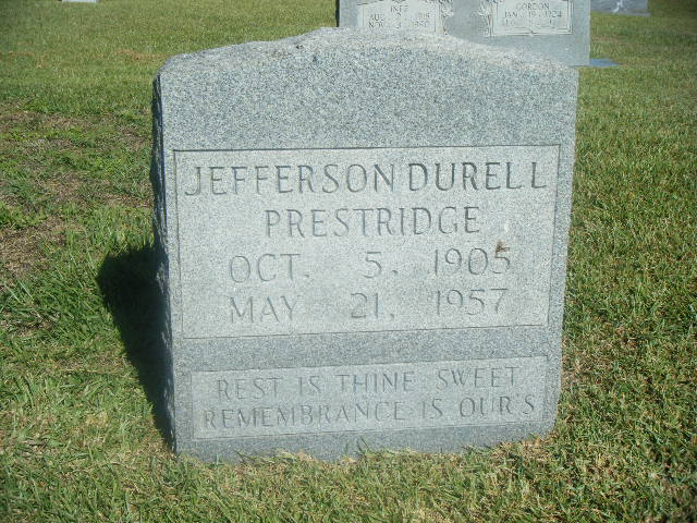 Jefferson Durell Prestridge