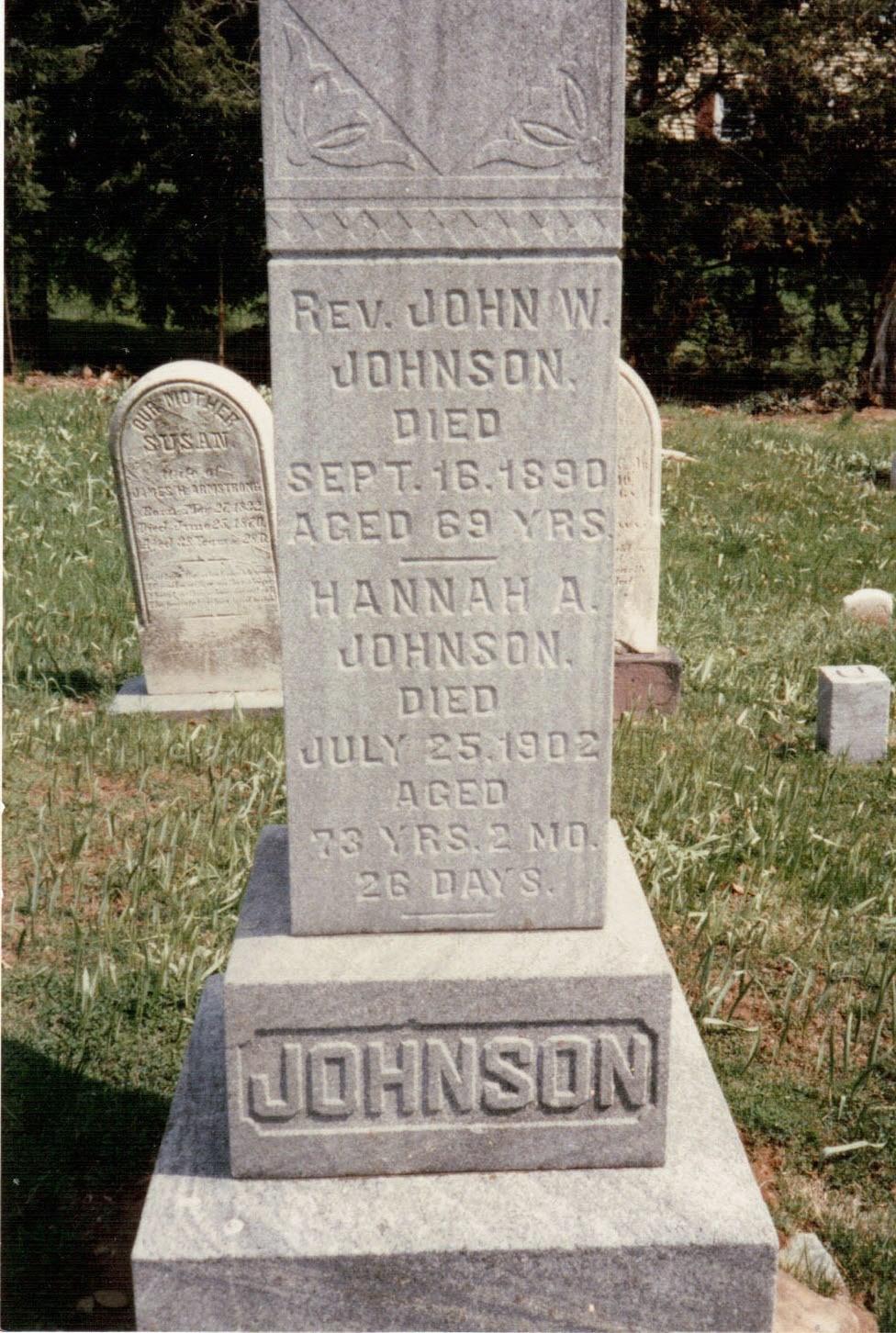 John W Johnson