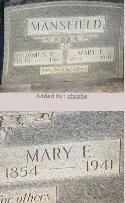 Mary Elizabeth Darter Mansfield