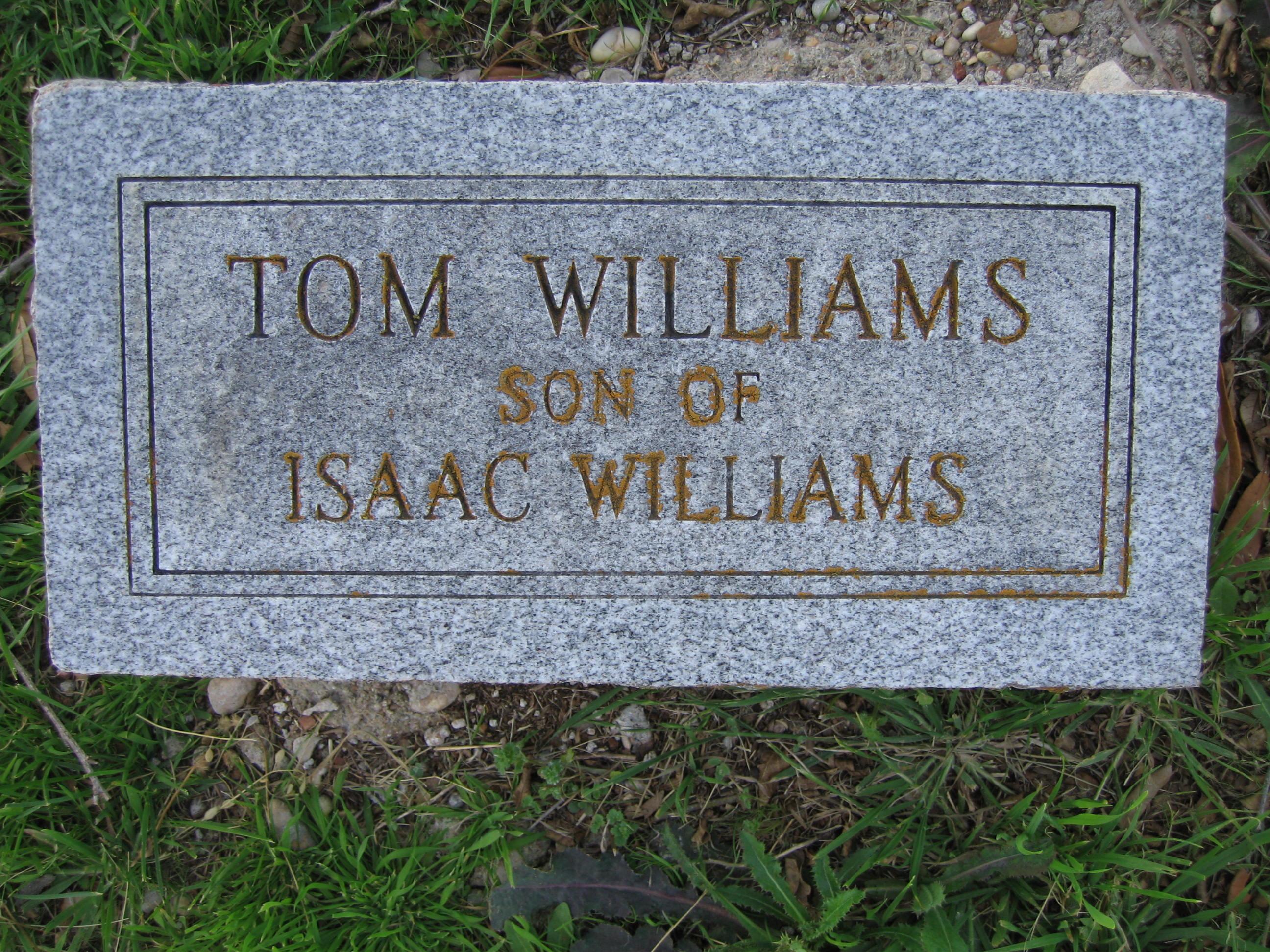 "Thomas ""Tom"" Williams"