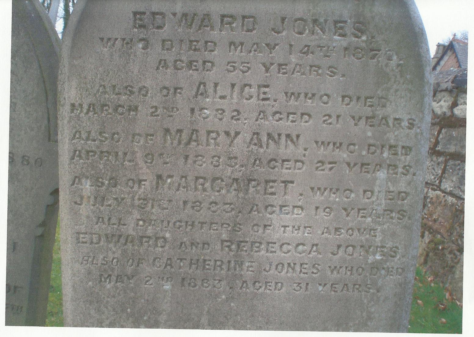 Mary A Jones