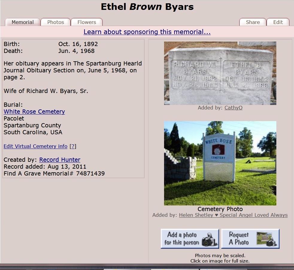 Ethel A Brown