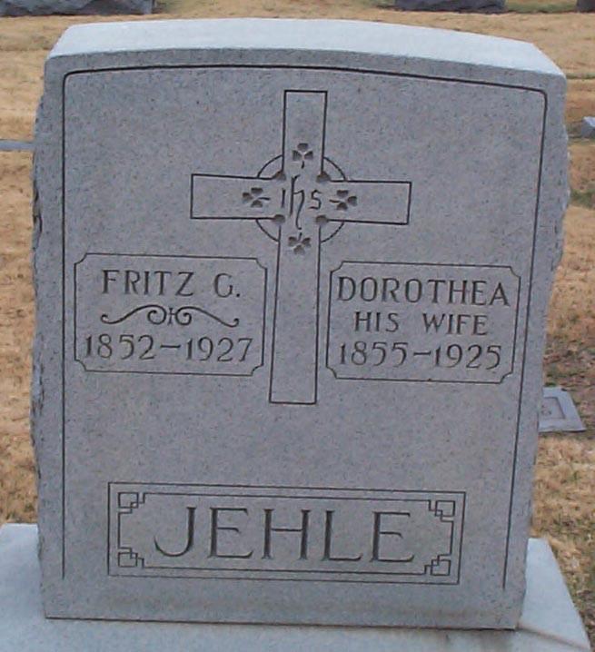 Friedrich G. (Fritz I) Jehle