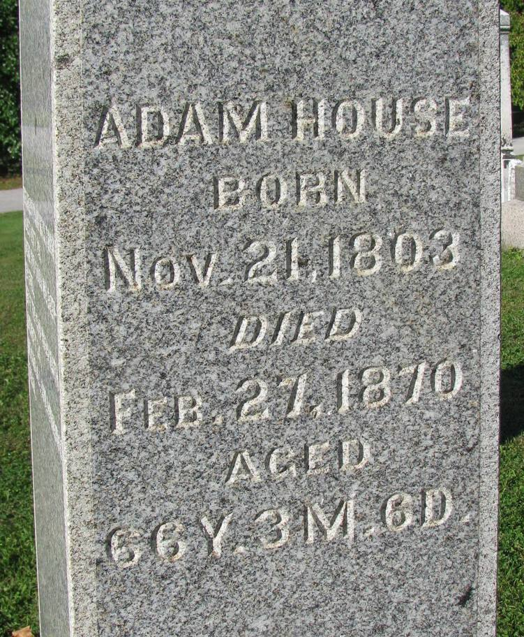 Adam W House
