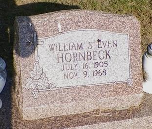 William Steven W S Hornbeck