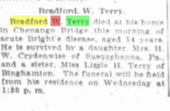 Bradford W Terry