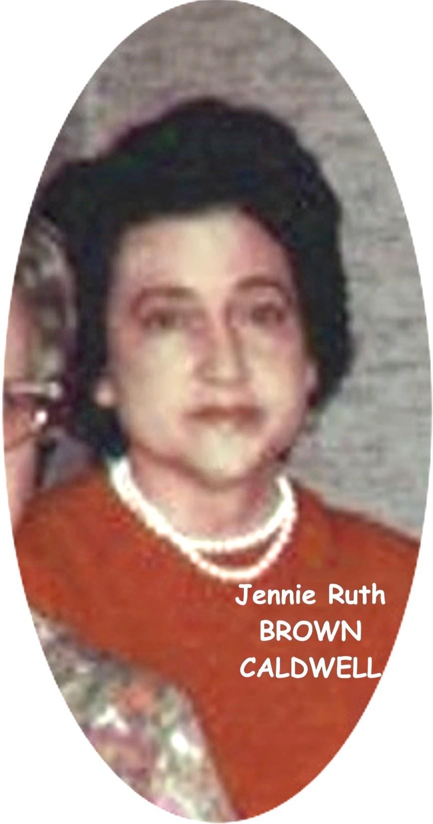 Jennie Ruth 1 Brown