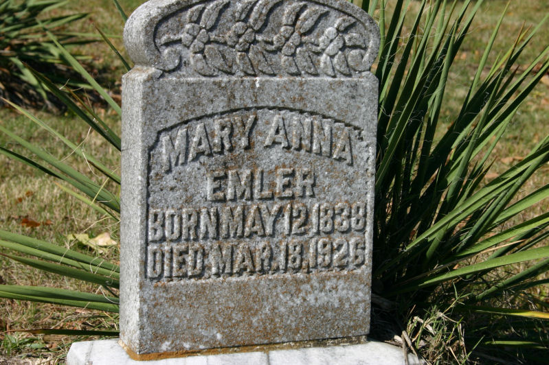 Mary Anna Sellers