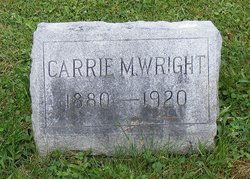 Carrie Maude Wright