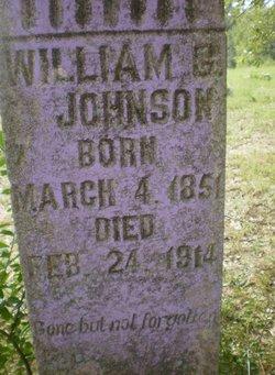 """William G. """"Billie"""" Johnson"""