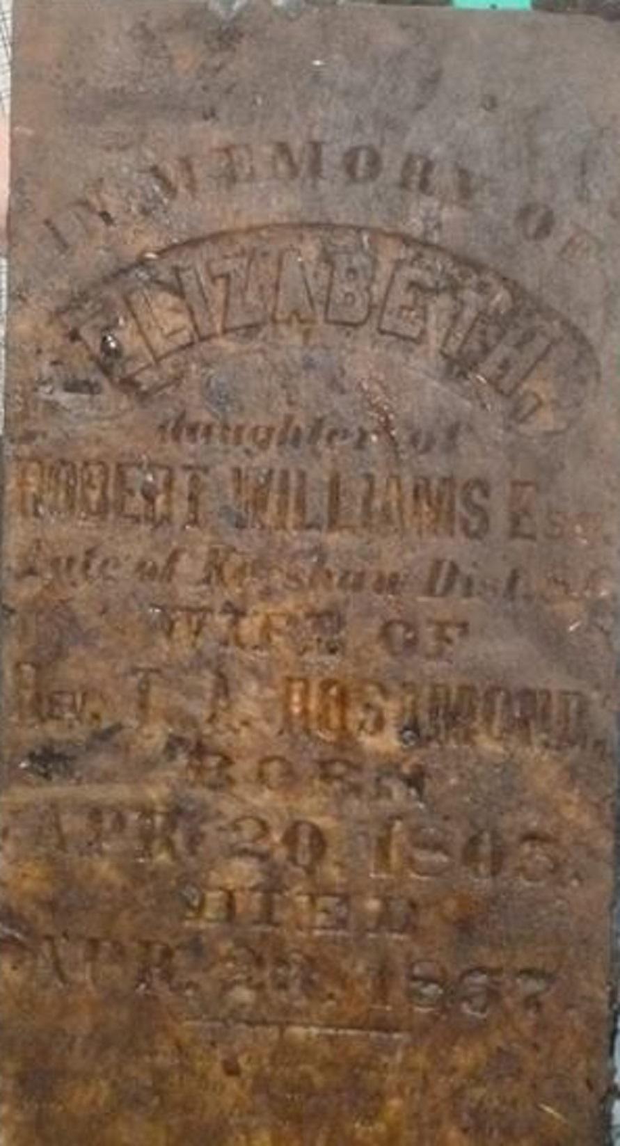 Elizabeth A Williams Rosemond