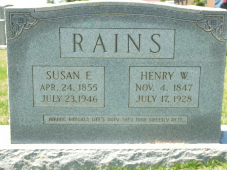 William Henry Rains