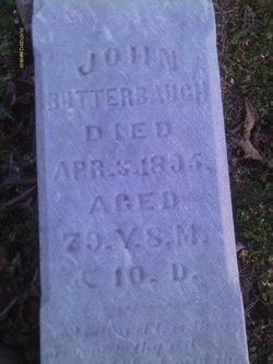 John P Butterbaugh