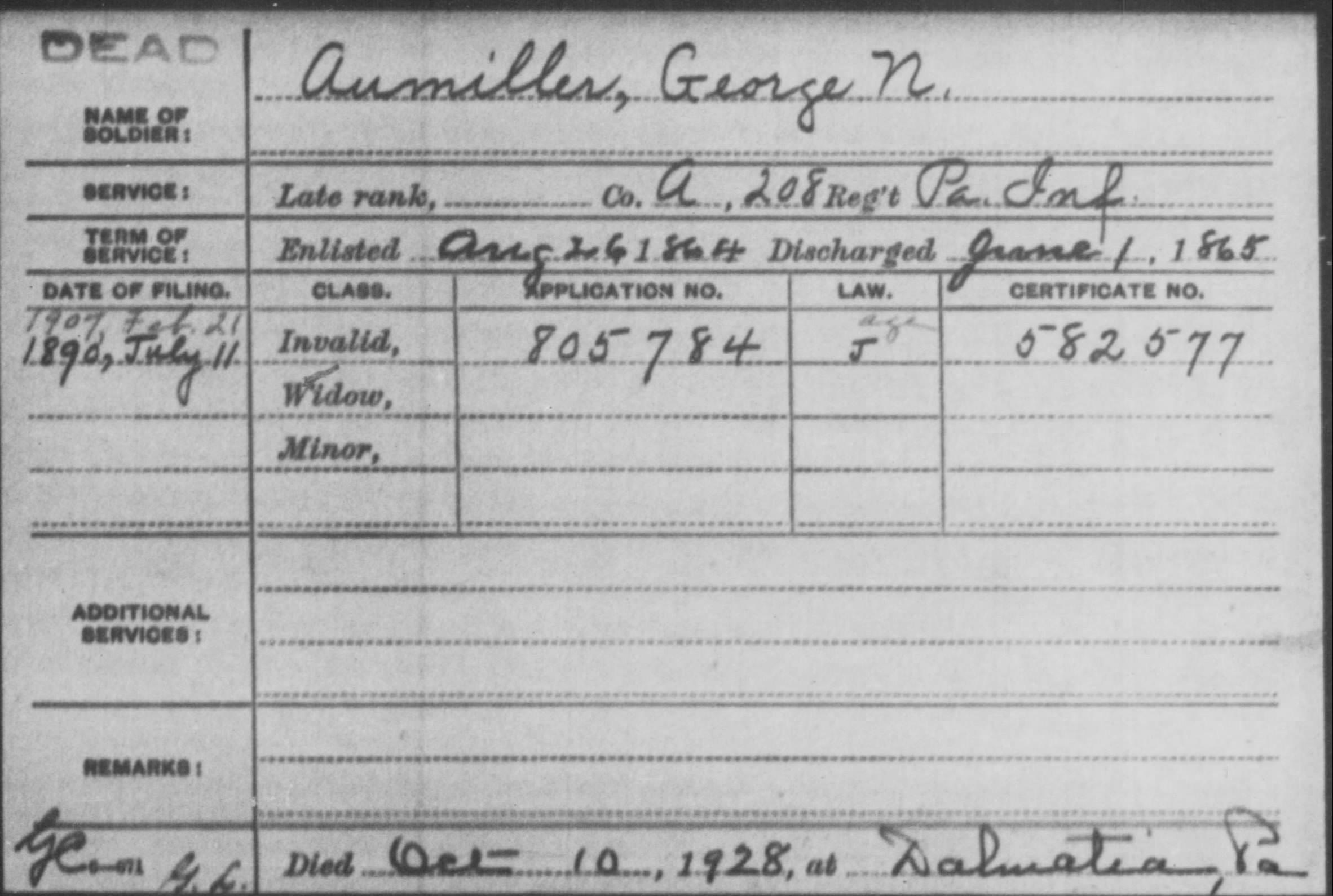 George N. Aumiller