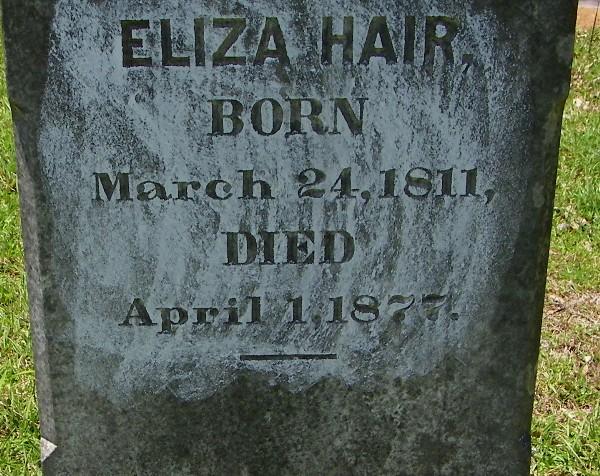 Eliza Hawthorne