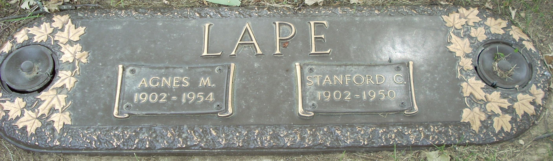 Stanford C. (s/ o Austin 1860) Lape