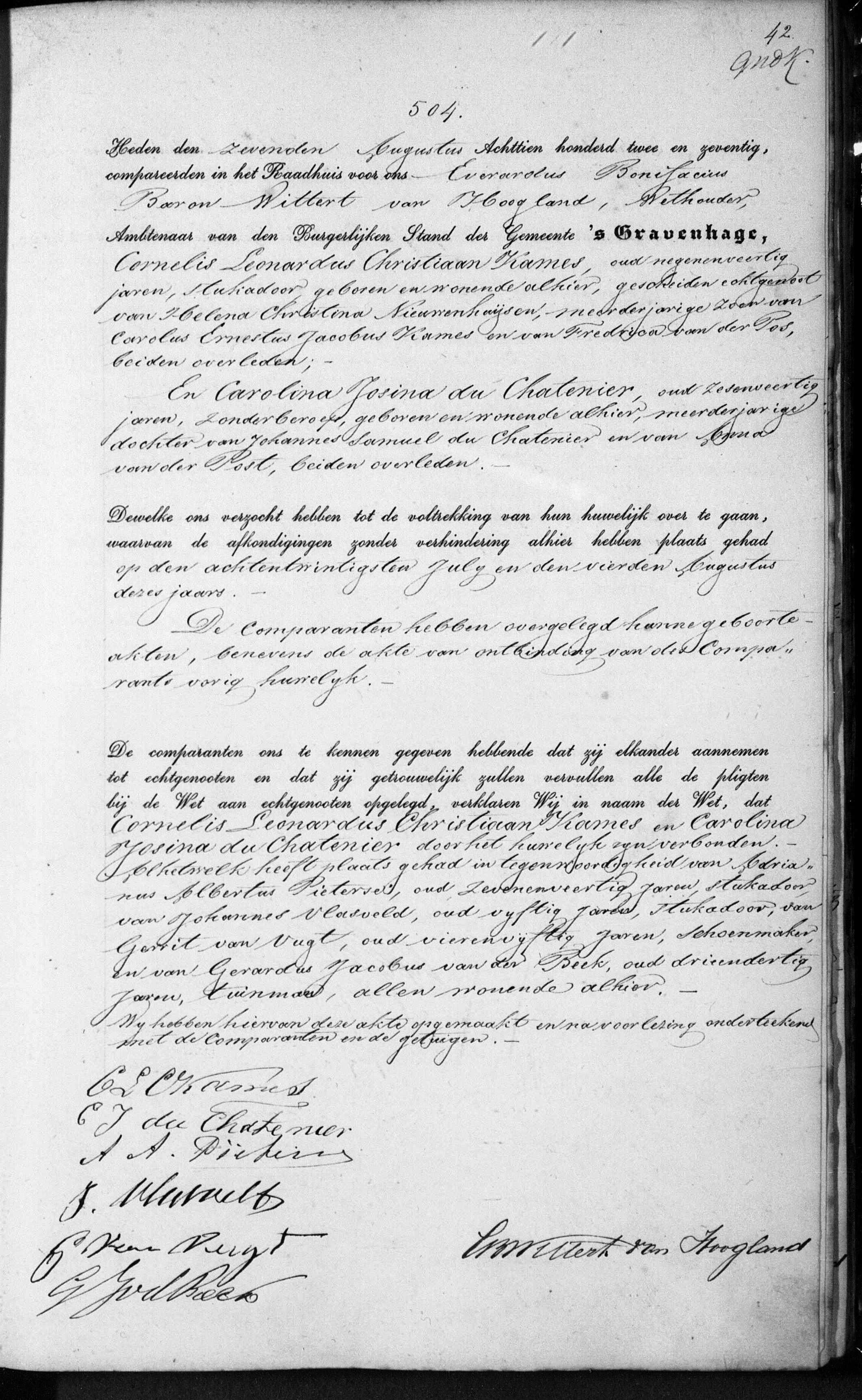 Cornelis Leonardus Christiaan Kames