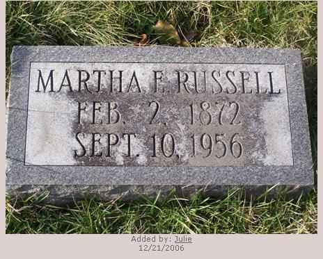 Martha Mattie  Arnold