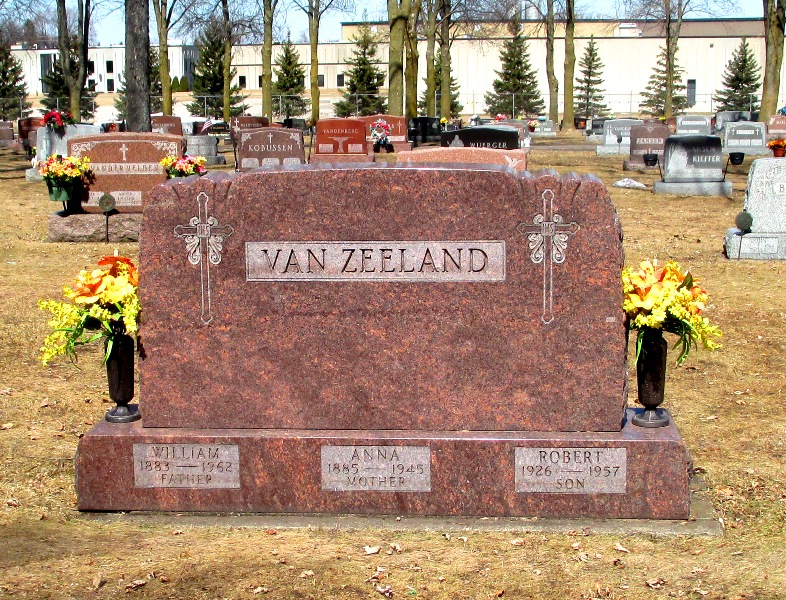 Anna Van Zeeland (Nèe: Behling )