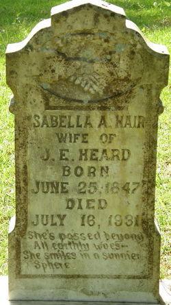 Isabella Antionette Hair-Heard