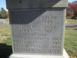Minnie A Taylor