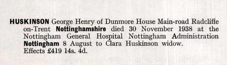 George Henry Huskinson