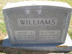 "William A ""Billie"" Williams"