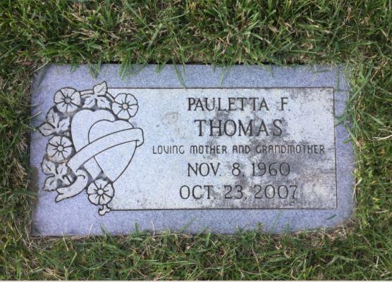 Pauletta F. Thomas