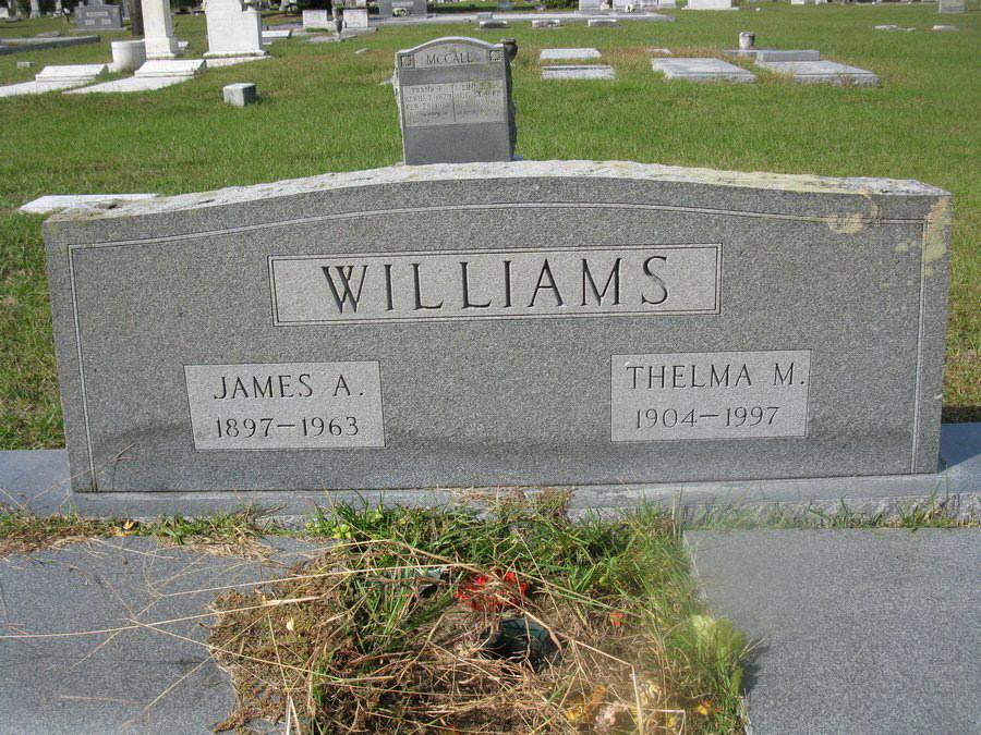 James A Williams