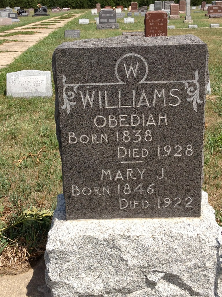 Obediah A Williams